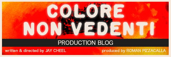 Colore Non Vedenti Production Blog