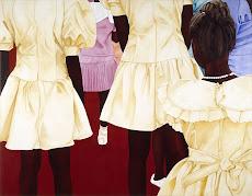 LA PROCESION -2006. OLEO SOBRE LIENZO. 170x220 cm. AMH