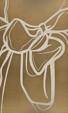 SIN TITULO – 2009 Dibujo acrílico sobre tela 150x100 cm. AMH