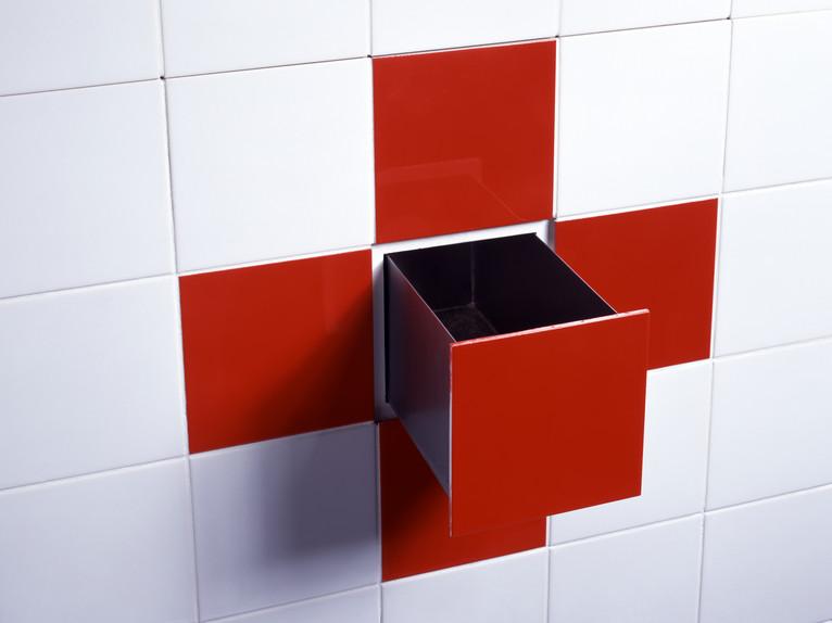 Baño Medidas Estandar:Cerámicos Funcionales 3D por Droog