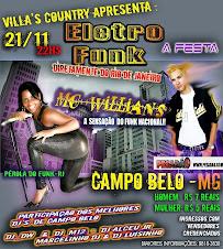 Pérola do Funk faz show em Campo Belo - MG