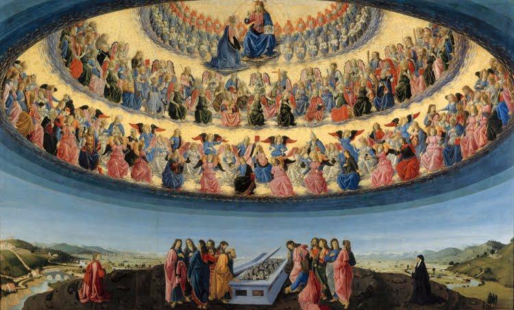Los nueve coros celestiales