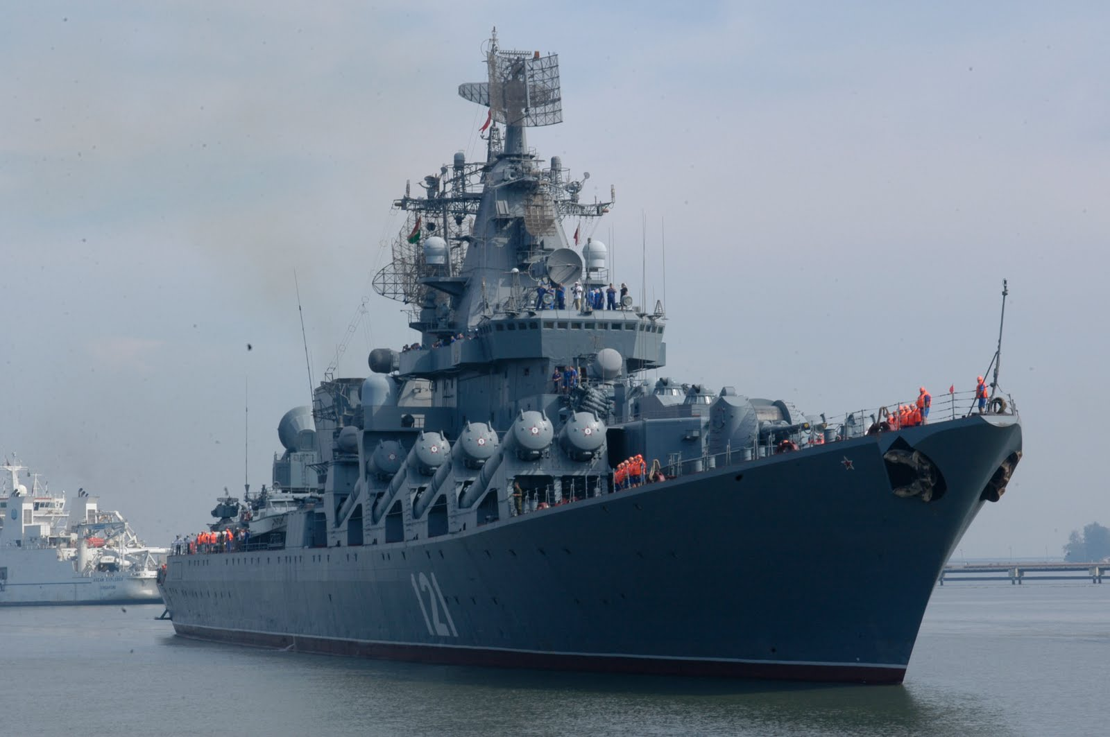Black sea fleet the guard missile cruiser moskva will arrive in the