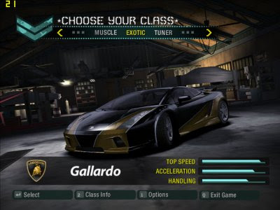 Need For Speed: Carbono (1 Link)