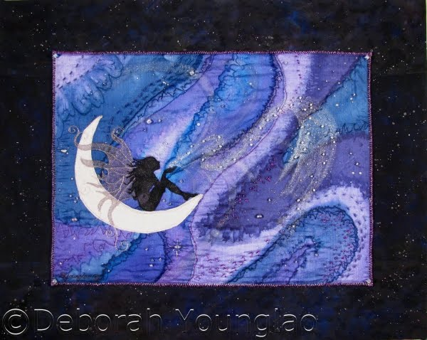 Deborah Younglao silk art quilt