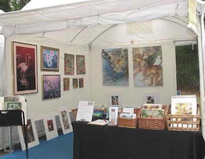 Art show canopy