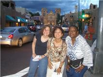 Silk in Santa Fe