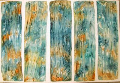 Deborah Younglao silk scarves