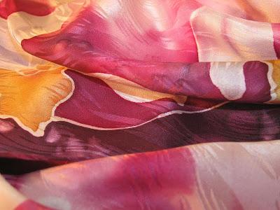 Deborah Younglao silk scarf detail