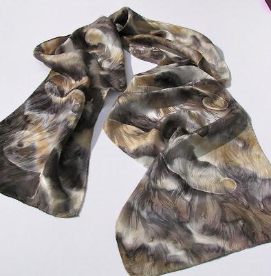 Deborah Younglao silk scarf