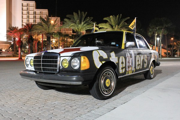 Hot cars tv pittsburgh steelers 1983 mercedes benz for Pittsburgh mercedes benz