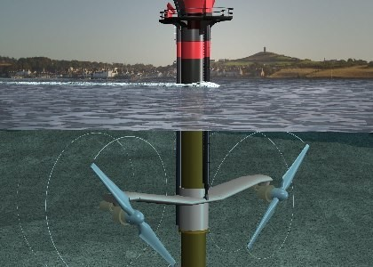Underwater Turbine In Place Off Scotland | Earthtechling