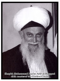 Shiekh Muhammad Nazim Adil Effendi  AlQubrusi AlHaqqani