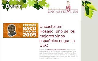 Premio Rosado Uncastellum