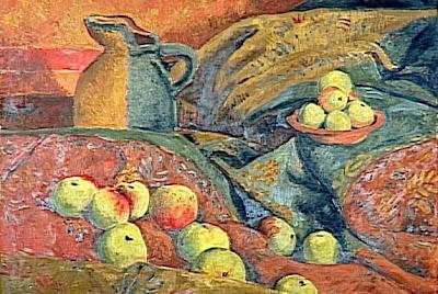 Paul Serusier - Nature morte : pommes et cruche - 20e siècle - Paris, musée d'Orsay