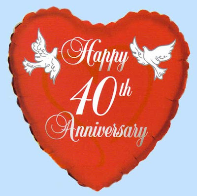Happy 40th Anniversary Quotes QuotesGram