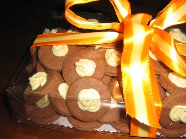 Biscoitos de Chocolate com Canela