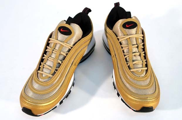 Cheap Nike AIR MAX 97 OG MASCULINO GOLD METALLIC Kings