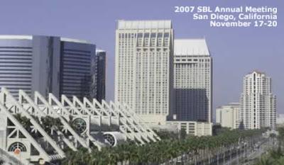 SBL 2007 in San Diego