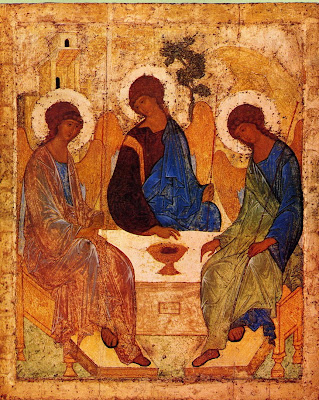 The Trinity by Rublev
