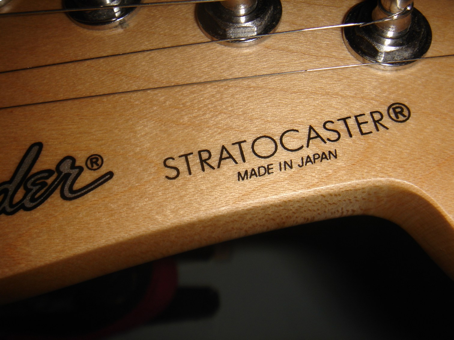 Thread vintage 1993 made in japan fender stratocaster rosewood neck