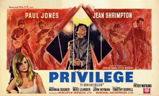 Privilege (film) - Wikipedia