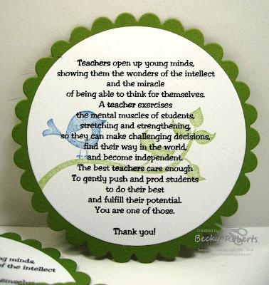 Inking Idaho: Teacher Appreciation Week Part 1