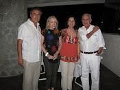 Con el maestro Carlos Fuentes