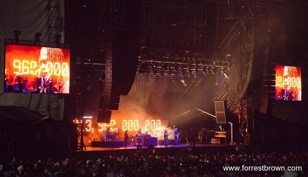 Massive Attack at Fuji Rock 2010