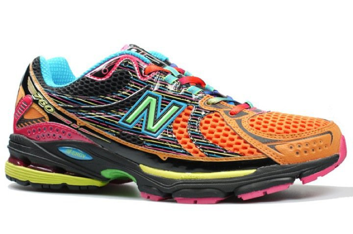 The New Balance Rainbow Running shoes I bought... oh man they are ...
