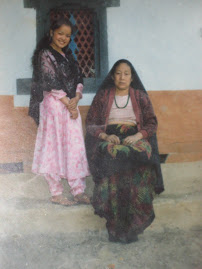 with my mom when i am 15 years old