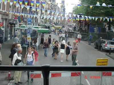 Гей-парад в Амстердаме