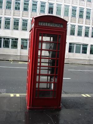 Знаменитый лондонский таксофон