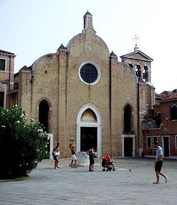 Венеция. Славянская набережная. Церковь Сан-Джованни-ин-Брагора