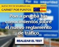 TEST DEL MUEVO REGLAMENTO DE TRÁFICO