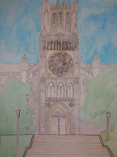 National Cathedral 18x24""
