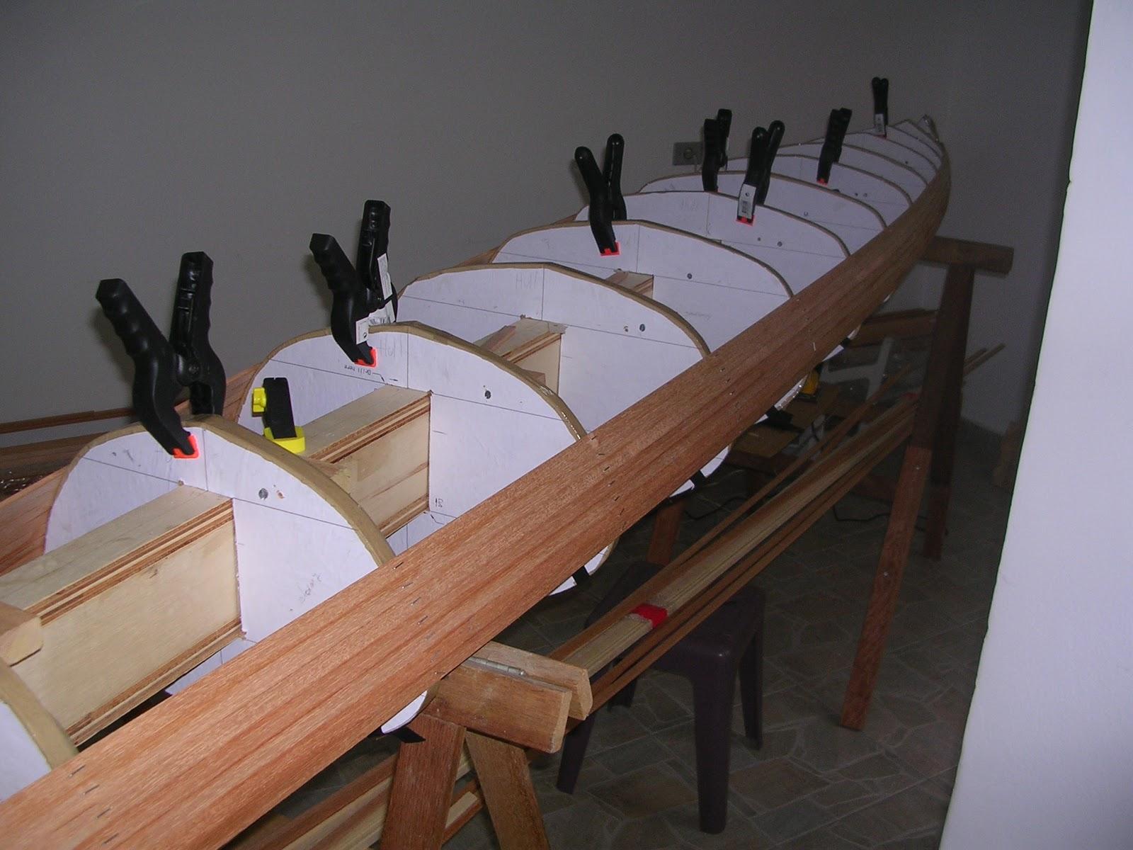 : Construção de um caiaque oceânico de madeira II Casco #694433 1600x1200