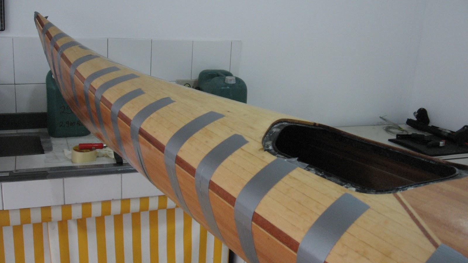 : Construção de um caiaque oceânico de madeira VI – Pronto #8B6534 1600x899