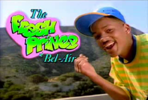 will smith fresh prince of bel air. The show starred Will Smith as