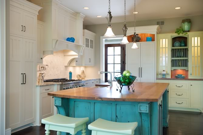 Turquoise Kitchen  For Melissa