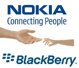 Logos de Nokia y Blackberry