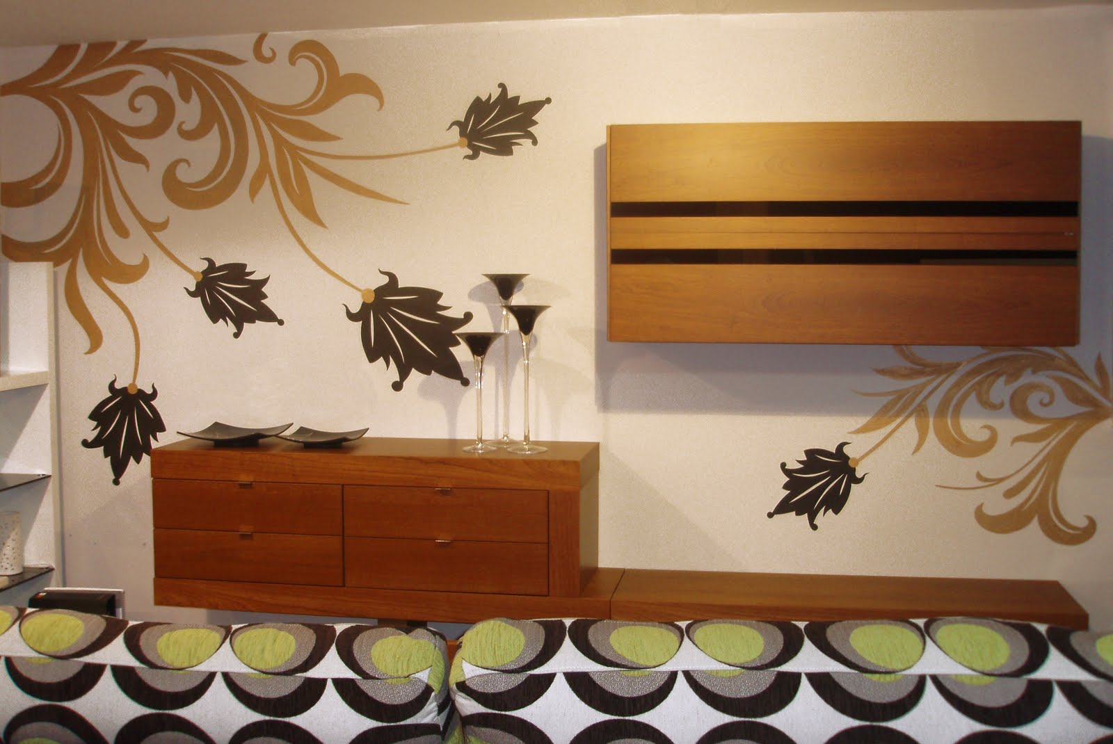 Muebles Murales Para Salon Muebles Para Saln Y Muebles Modernos  # Muebles Murales