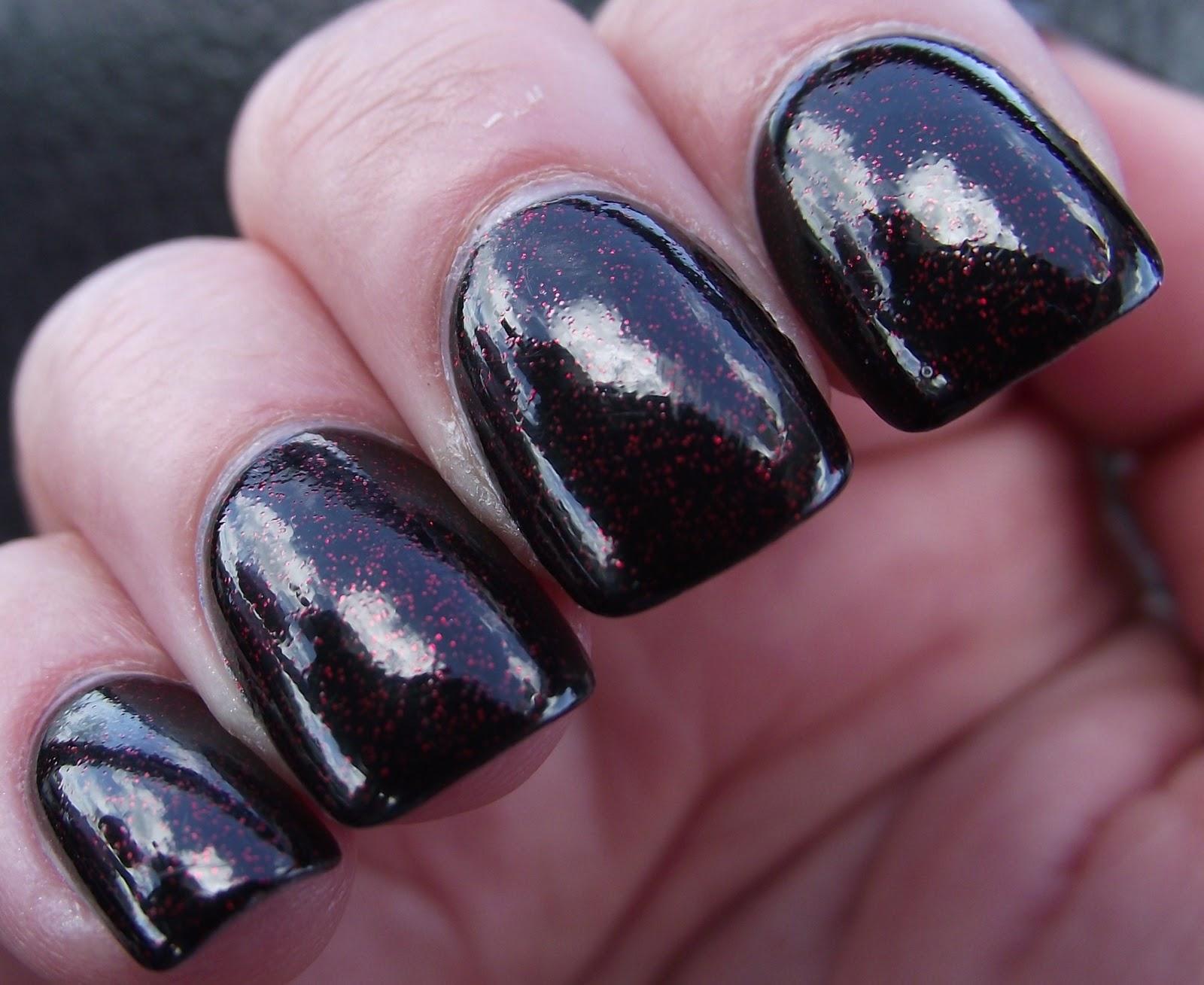 Pretty Clever: Today\'s nails: Eyeko Vampira Polish