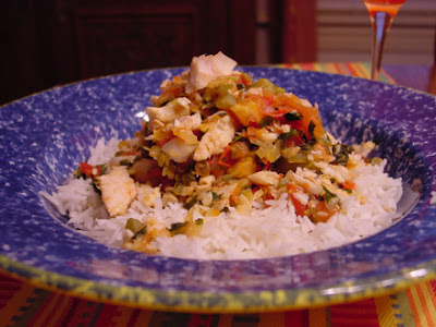 Bean's Bistro: Mexican Fish Hash and Rosalitas