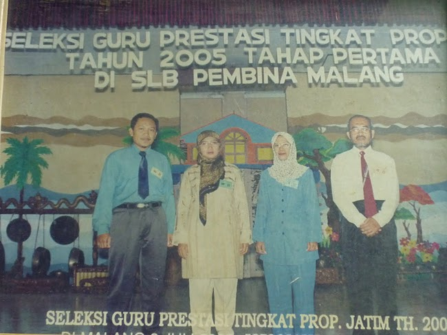 SELEKSI GURU BERPRESTASI TINGKAT JAWA TIMUR TAHUN 2005