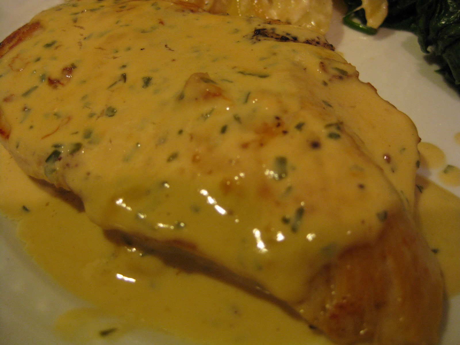 breasts in a mushroom tarragon and mustard pan sauce seared chicken ...