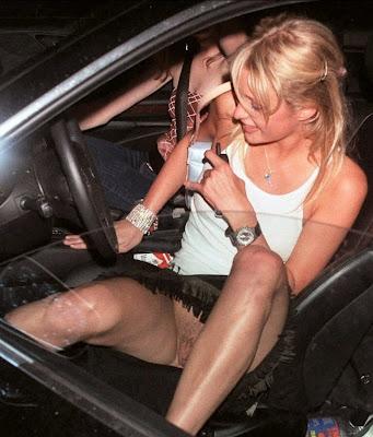 Paris Hilton — blote kut
