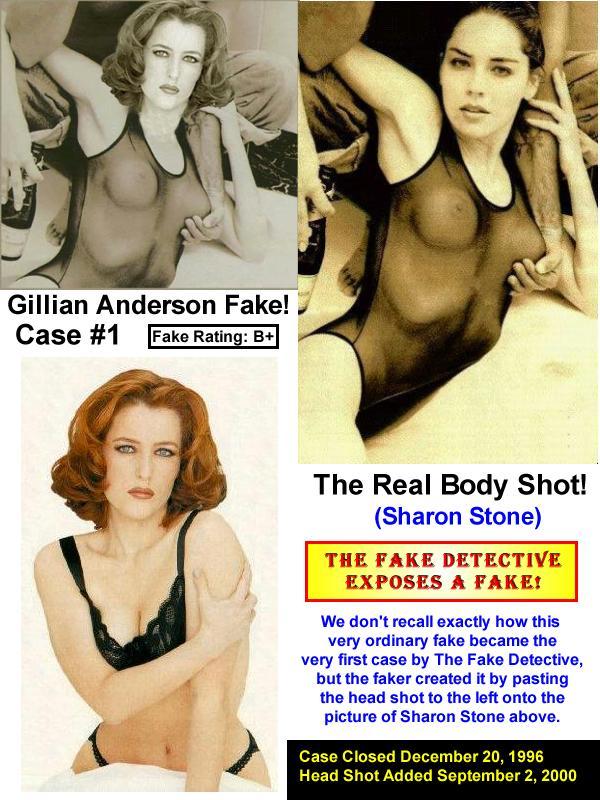 Gillian Anderson naakt