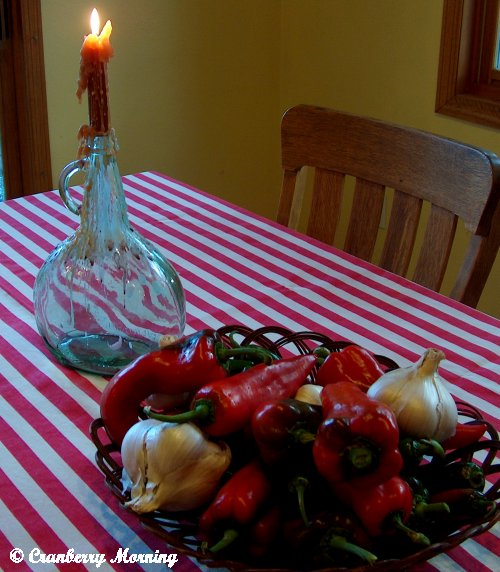 Cranberry Morning: Italian Dinner Party Potluck