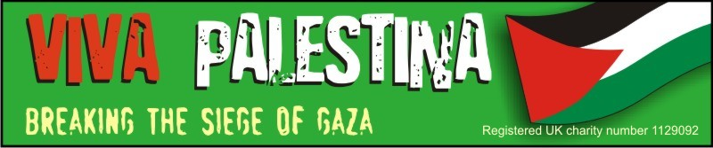 Bob goes to GAZA with VIVA PALESTINA